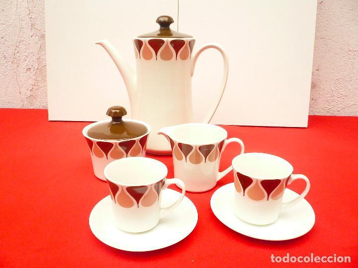 Vintage: JUEGO DE CAFÉ TU Y YO ROYAL CHINA VIGO. VINTAGE - Foto 14 - 200084428
