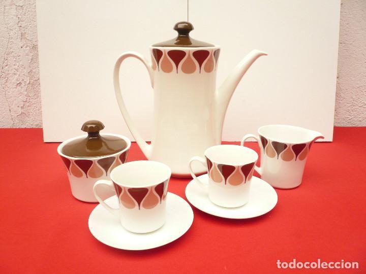 Vintage: JUEGO DE CAFÉ TU Y YO ROYAL CHINA VIGO. VINTAGE - Foto 15 - 200084428