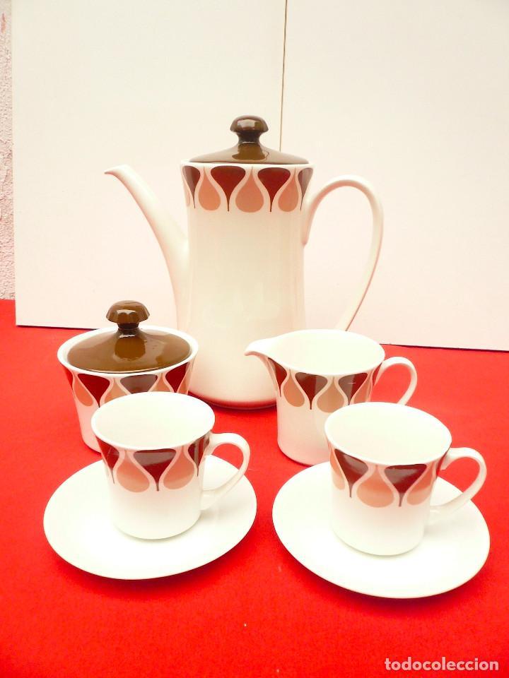 Vintage: JUEGO DE CAFÉ TU Y YO ROYAL CHINA VIGO. VINTAGE - Foto 16 - 200084428