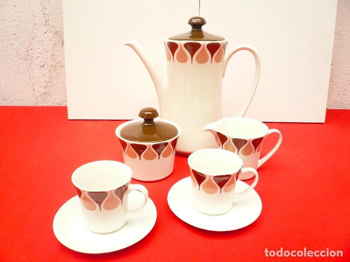 Vintage: JUEGO DE CAFÉ TU Y YO ROYAL CHINA VIGO. VINTAGE - Foto 17 - 200084428