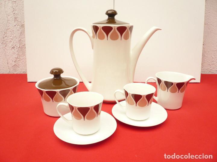 Vintage: JUEGO DE CAFÉ TU Y YO ROYAL CHINA VIGO. VINTAGE - Foto 18 - 200084428