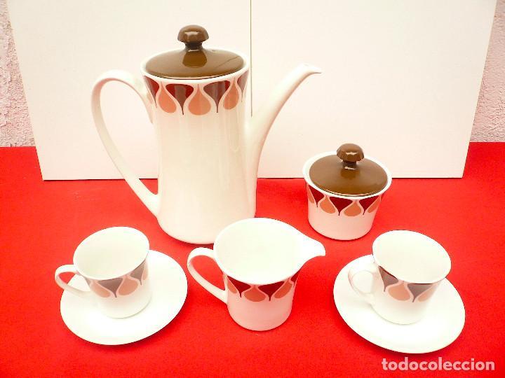 Vintage: JUEGO DE CAFÉ TU Y YO ROYAL CHINA VIGO. VINTAGE - Foto 20 - 200084428