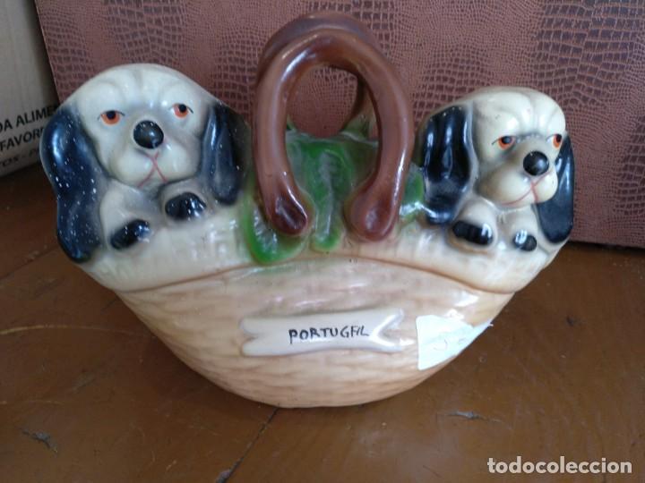 HUCHA DE CERÁMICA DE PORTUGAL (Vintage - Decoración - Porcelanas y Cerámicas)
