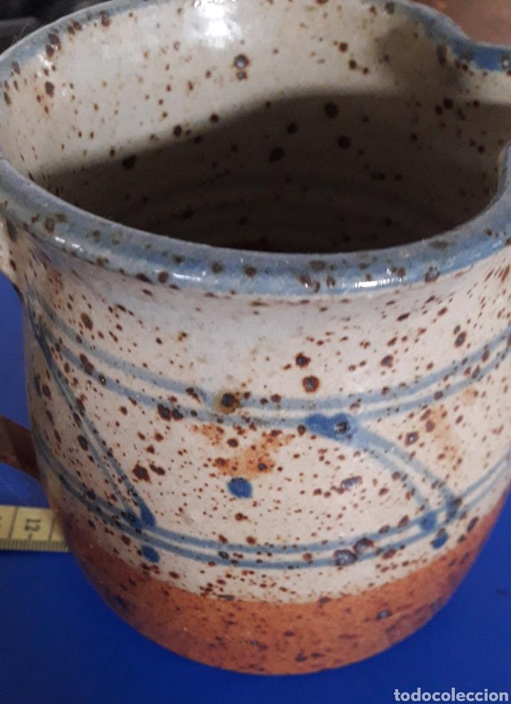 Vintage: Jarra de ceramica diseño vintage en gres - Foto 4 - 201785793