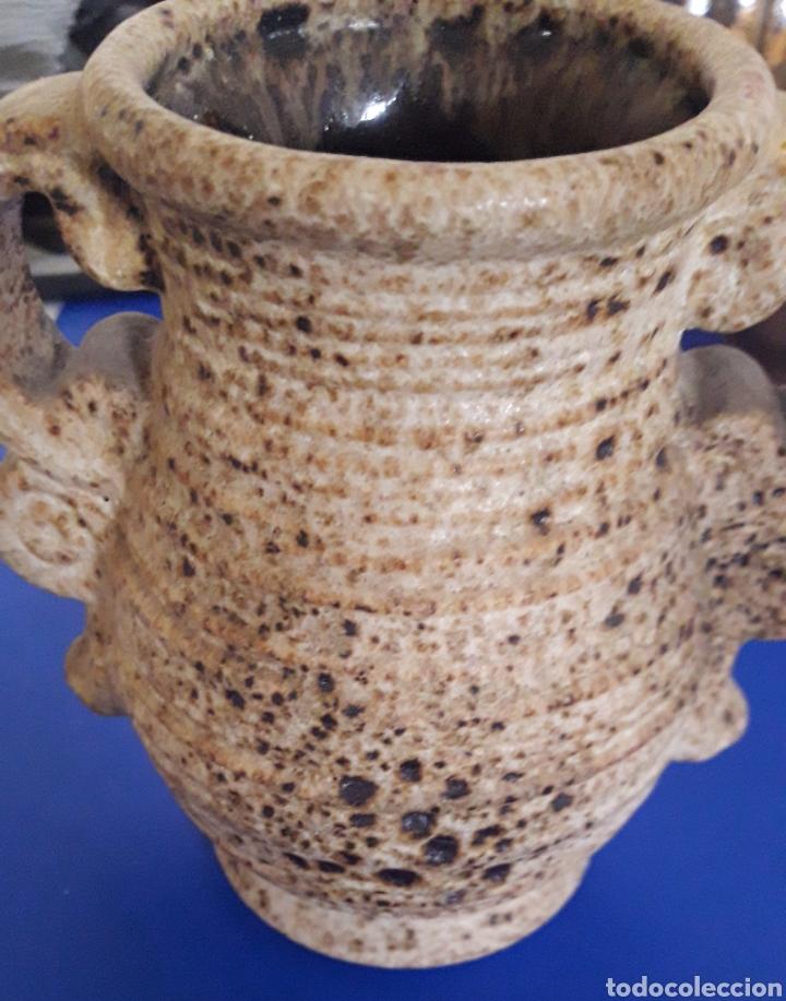 Vintage: Preciosa ceramica jarra de gres vintage de diseño - Foto 3 - 201786322