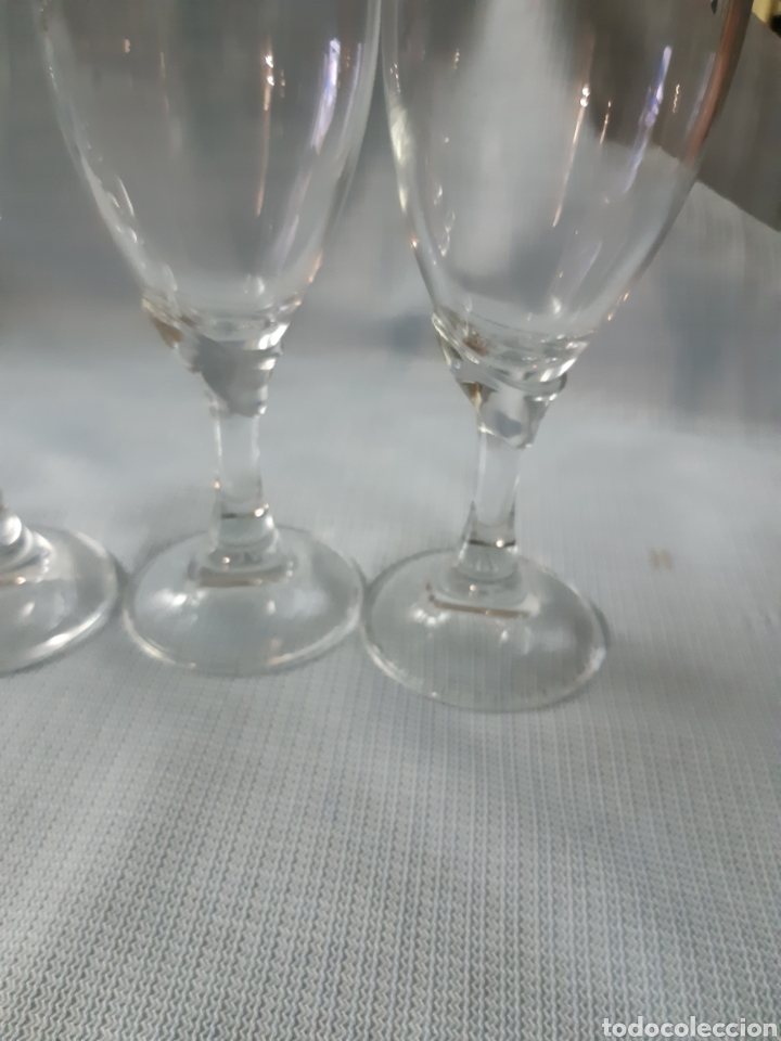 Vintage: CRISTALERIA DE 36 PIEZAS 4 Clases de copas diferentes - Foto 3 - 202599356