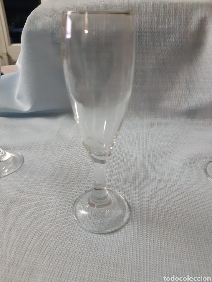 Vintage: CRISTALERIA DE 36 PIEZAS 4 Clases de copas diferentes - Foto 4 - 202599356