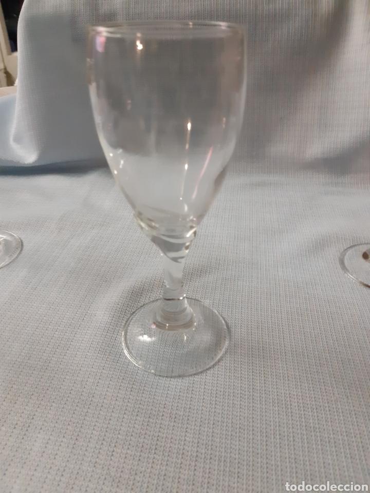 Vintage: CRISTALERIA DE 36 PIEZAS 4 Clases de copas diferentes - Foto 5 - 202599356