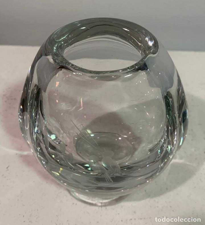 Vintage: Jarrón de cristal - Foto 4 - 202755831