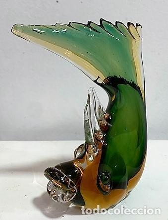 Vintage: Sommerso, pez de cristal. - Foto 2 - 202985935