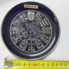 Vintage: PLATO DE RECUERDO LOS DOCE LINAJES SORIA. Lote 203020723