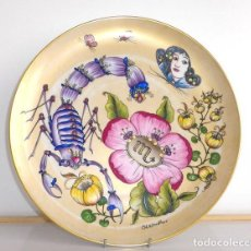 Vintage: PLATO DECORATIVO OLE WINTHER, HUTSCHENREUTHER GERMANY 29,5CM.. Lote 203034361