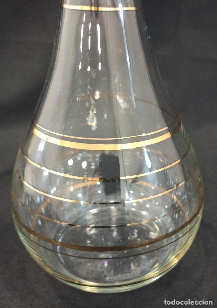 Vintage: Licorera con acabados en oro. C4 - Foto 3 - 204388133