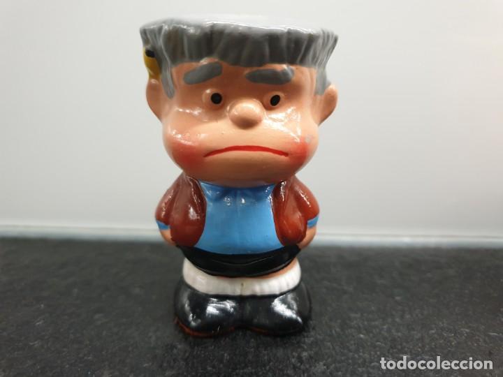 Vintage: Figuras de cerámica de Manolito y Felipe, personajes de Mafalda. Años 80 (Envío 2,50€) - Foto 2 - 204734737