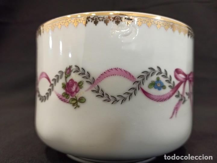 Vintage: Cuenco de cerámica con decoración floral en lazo. C11 - Foto 3 - 204839312