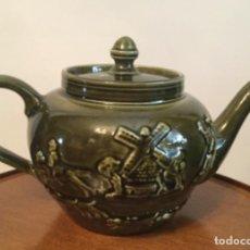 Vintage: TETERA PORCELANA ESMALTADA INGLESA ARTHUR WOOD ENGLAND. Lote 205167926