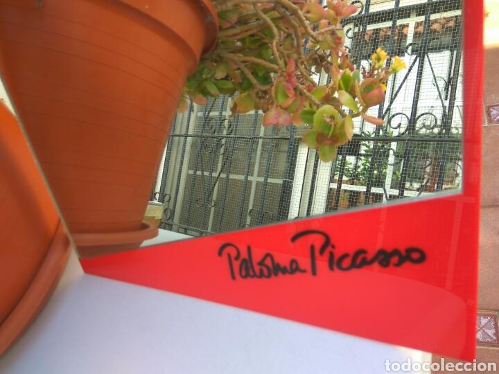 ESPEJO VINTAGE PALOMA PICASSO BOUTIQUE AÑOS 80 (Vintage - Decoración - Cristal y Vidrio)