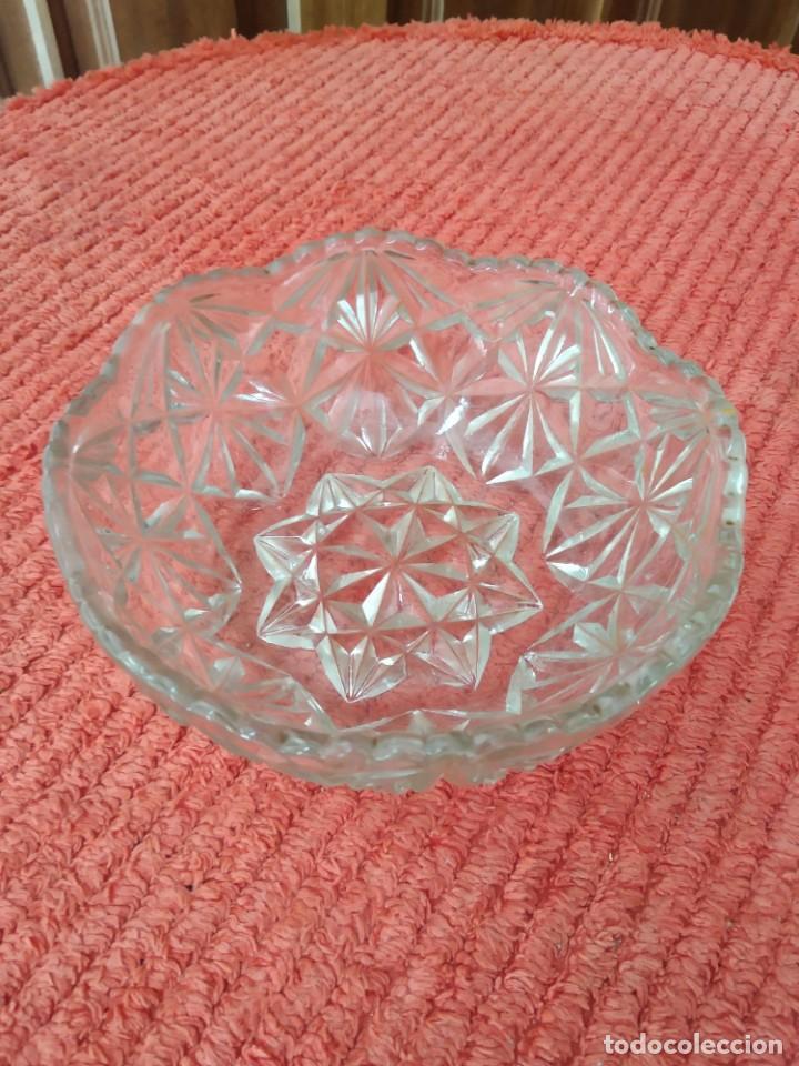 Vintage: Cuenco vintage en cristal de roca tallado - Foto 3 - 205550782