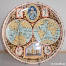 Vintage: PLATO DECORATIVO SIR FRANCIS DRAKE 25,5CM.. Lote 205840642