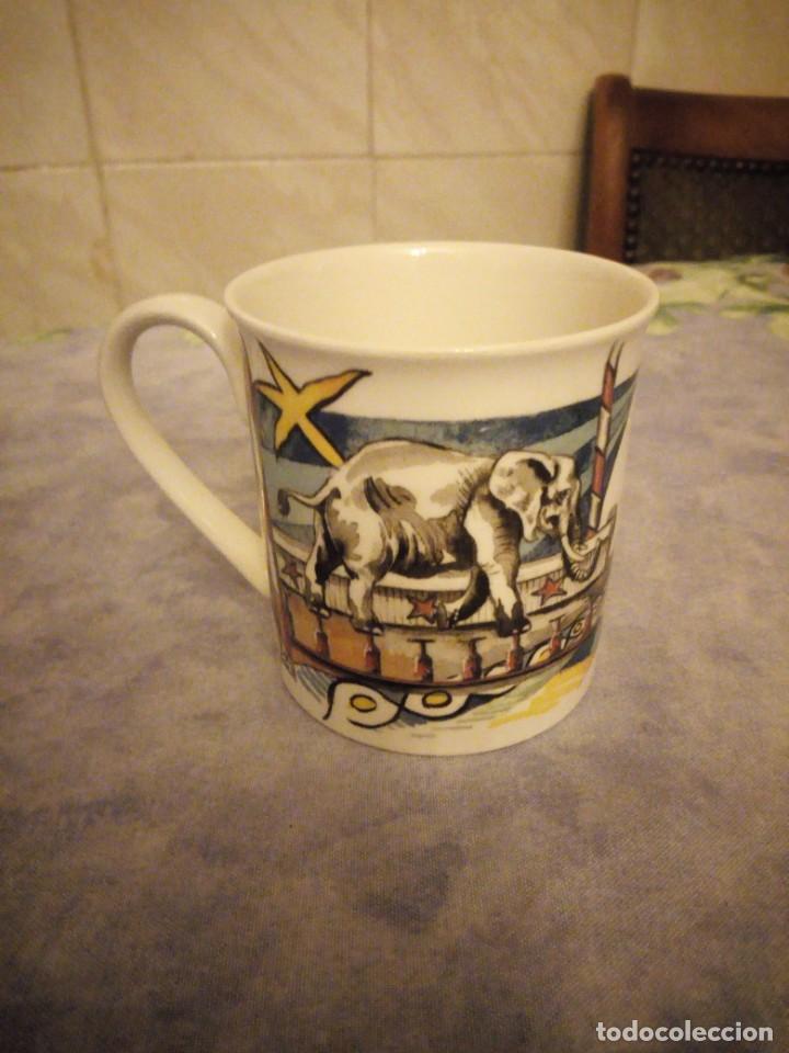 Vintage: Preciosa taza de desayuno de porcelana villeroy & boch- circo - Foto 2 - 206398407