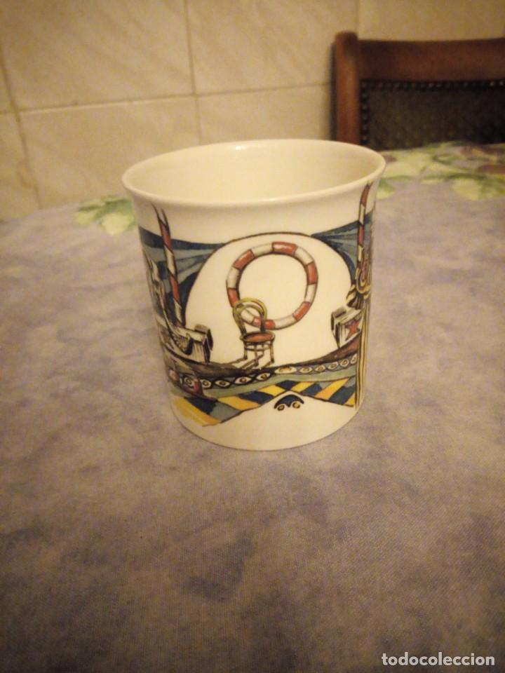 Vintage: Preciosa taza de desayuno de porcelana villeroy & boch- circo - Foto 3 - 206398407