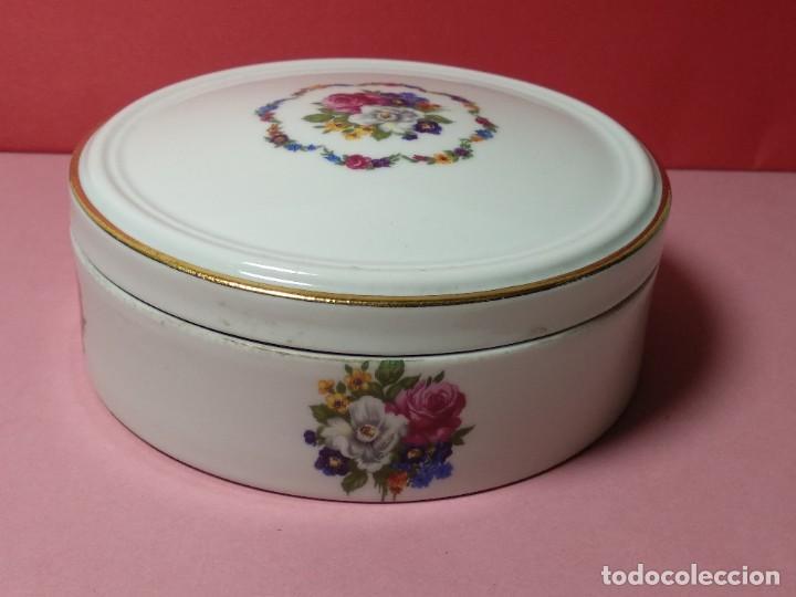 JOYERO DE PORCELANA DE BIDASOA VINTAGE (Vintage - Decoración - Porcelanas y Cerámicas)