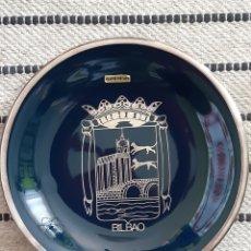 Vintage: ESCUDO DE BILBAO, CON PLATA DE LEY. Lote 207272811