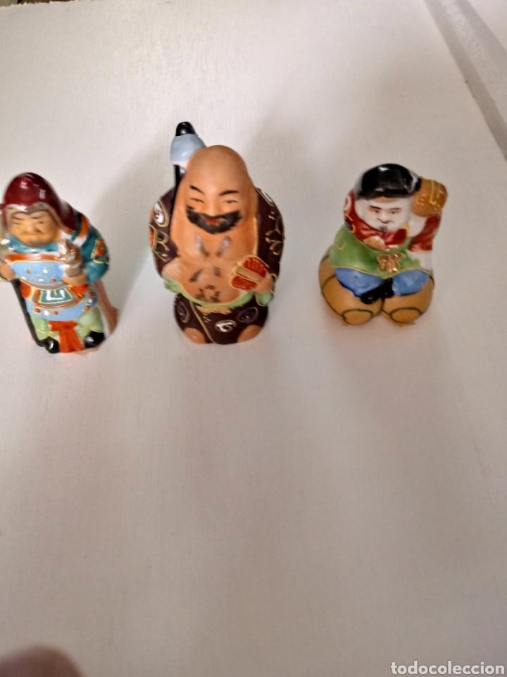 Vintage: Figuritas de sabios chinos de coleccion - Foto 4 - 207302673