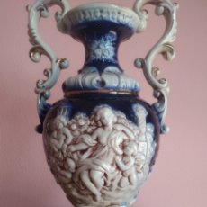 Vintage: JARRÓN ANTIGUO DE PORCELANA ITALIANA. MADE IN ITALY. Lote 207772973