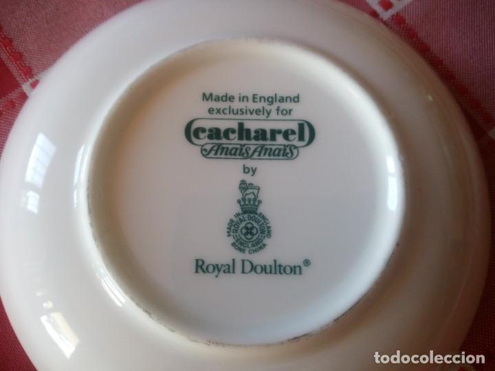 Vintage: Pequeño plata para abaloriso de porcelana royal doulton cacharel anais anais - Foto 4 - 208092736