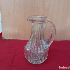 Vintage: JARRA DE CRISTAL. Lote 208299462