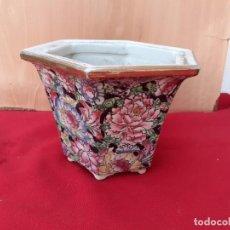Vintage: MACETA ORIENTAL. Lote 208300378