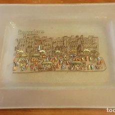 Vintage: BANDEJA RECUERDO DE LA PEDRERA BARCELONA. Lote 208826036