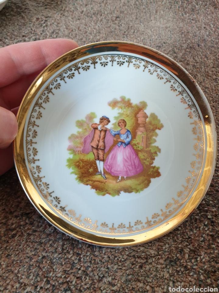 PLATO PORCELANA (Vintage - Decoración - Porcelanas y Cerámicas)