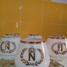 Vintage: 6 COPAS DE COÑAC. Lote 210113120