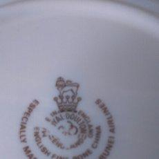 Vintage: PLATO DE PORCELANA INGLÉS DE ROYAL DOULTON. Lote 210573677