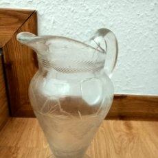 Vintage: ANTIGUA JARRA DE CRISTAL. Lote 210648372