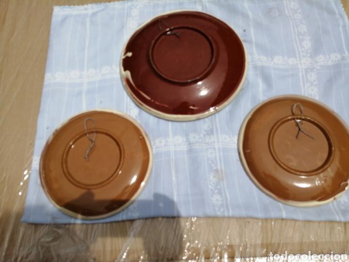 Vintage: 3 platos en ceramica - Foto 5 - 211574236