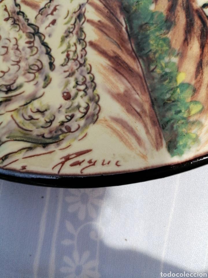 Vintage: 3 platos en ceramica - Foto 8 - 211574236
