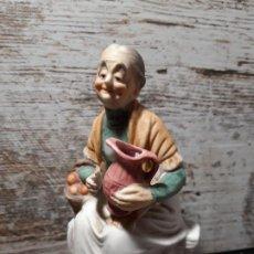 Vintage: FIGURA DE PORCELANA DE BISQUIT. Lote 213335610