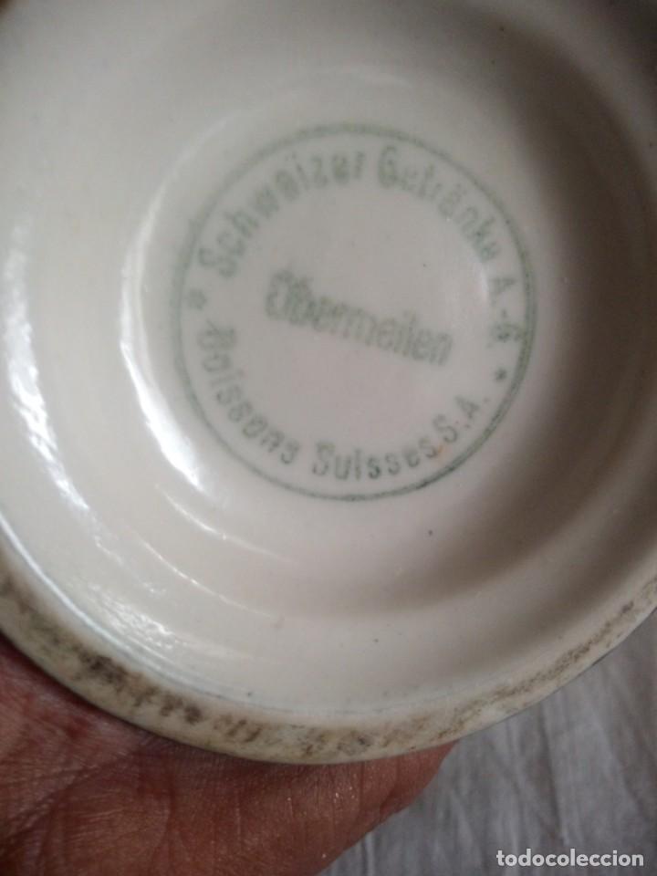 Vintage: original botella de porcelana schweizer obermeilen - Foto 6 - 213424403