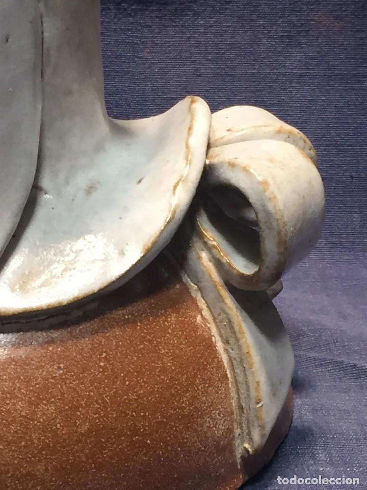 Vintage: figura de ceramica niña sentada arrodillada años 60 70 28x14x16cms - Foto 20 - 213445666