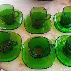 Vintage: **JUEGO DE CAFÉ DE 6 TAZAS MODELO VINTAGE**. Lote 213885295