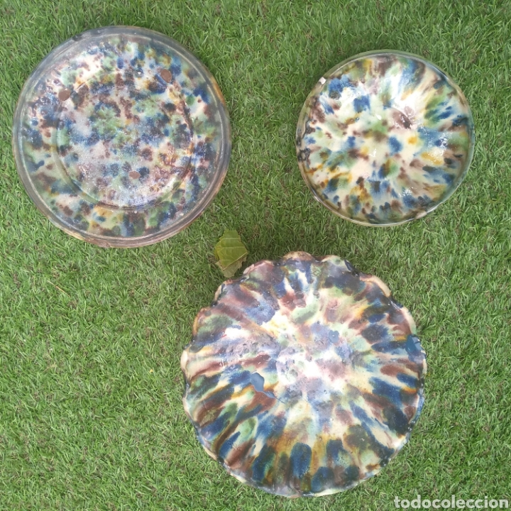 Vintage: Lote cerámica Nijar - Foto 5 - 214663858