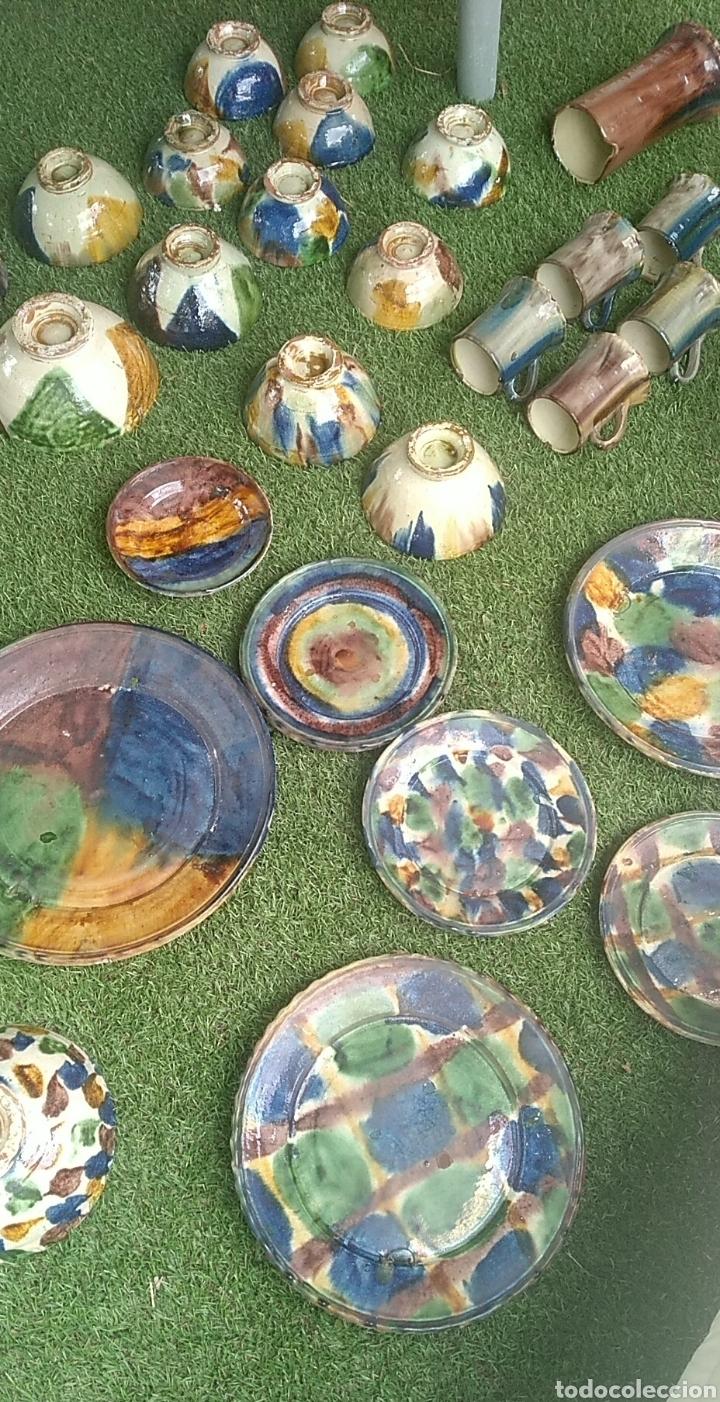 LOTE CERÁMICA NIJAR (Vintage - Decoración - Porcelanas y Cerámicas)