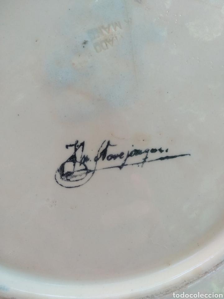 Vintage: Gran plato decorativo - Foto 2 - 214788442