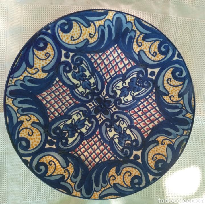 GRAN PLATO DECORATIVO (Vintage - Decoración - Porcelanas y Cerámicas)