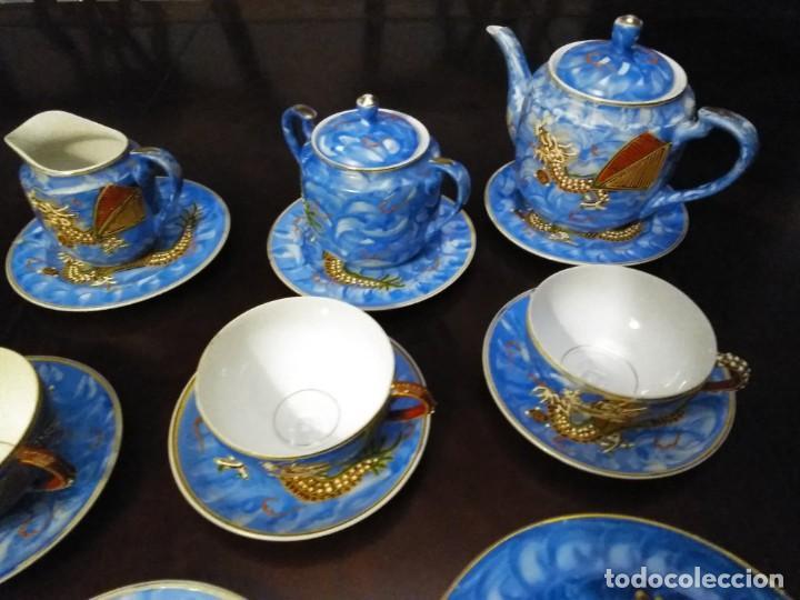 Vintage: ANTIGUO JUEGO DE TE / CAFE JAPONES [ 16 PIEZAS INTACTAS ] - Foto 6 - 215303008