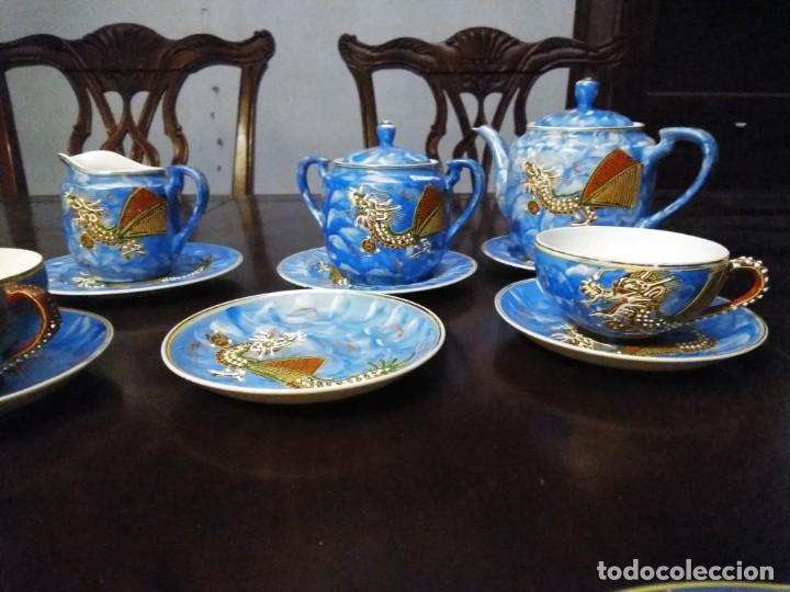 Vintage: ANTIGUO JUEGO DE TE / CAFE JAPONES [ 16 PIEZAS INTACTAS ] - Foto 11 - 215303008