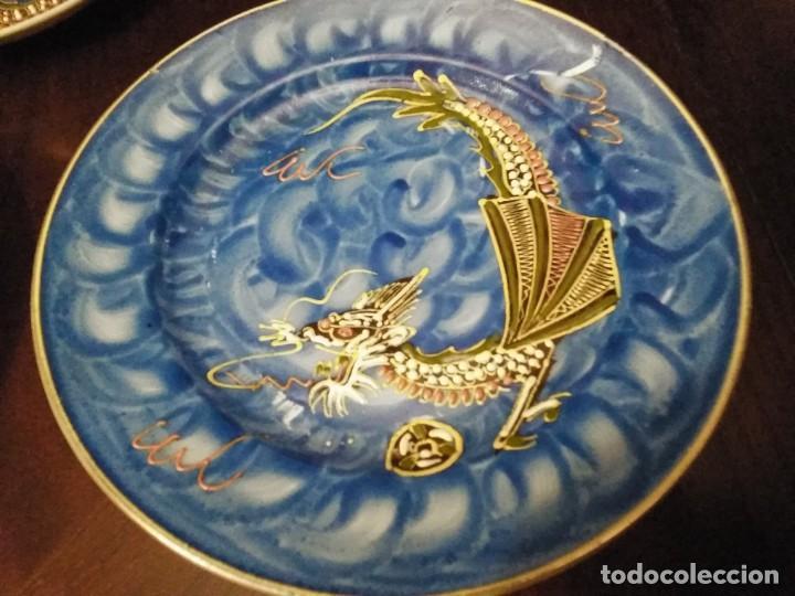 Vintage: ANTIGUO JUEGO DE TE / CAFE JAPONES [ 16 PIEZAS INTACTAS ] - Foto 12 - 215303008